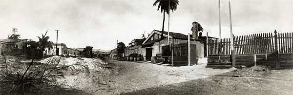 The original Barcardi Distillery