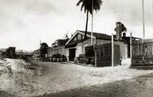 The original tin-roofed Bacardi distillery in Santiago de Cuba