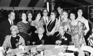 Bacardi family members at a company dinner in 1966